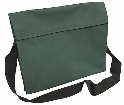 Canvas Tool Bag With Shoulder Strap, Green. Great for Work Storage. New