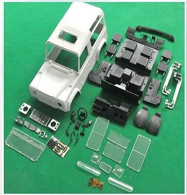 1/10 LAND ROVER D90 Bodies For AXIAL SCX10 RC4WD