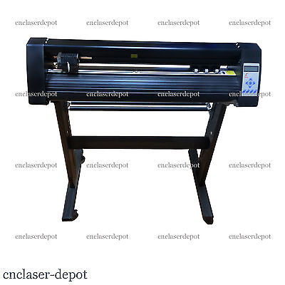 "New 28"" Vinyl Cutter Contour Cut Redsail Cutting Plotter with WinPCSIGN Basic"