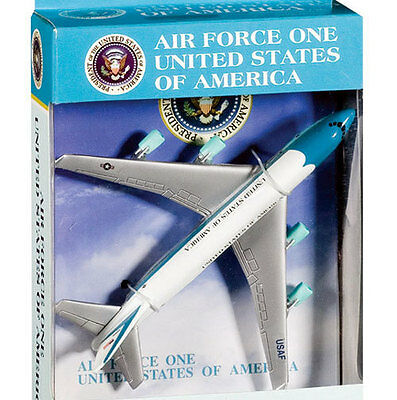 Air Force One - Boeing 747 - Spielzeugflugzeug Diecast 14,5cm lang B747