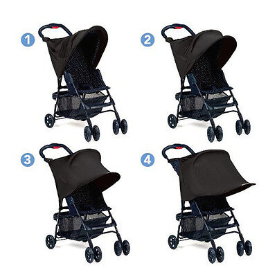 Baby Stroller Sun Shade Infant Windshield Protect Cover Protector Canopy WV248
