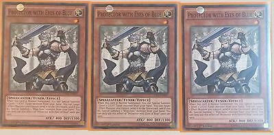 Playset 3 X Ldk2-Enk07 Protector With Eyes Of Blue 1St Ed Mint