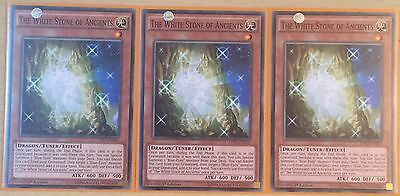 Playset 3 X Ldk2-Enk05 The White Stone Of Ancients 1St Edition Mint
