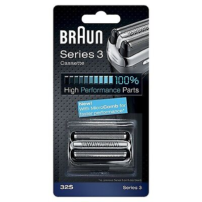 Braun 32S Series 3 Electric Shaver Replacement Foil and Cassette Cartridge NEW