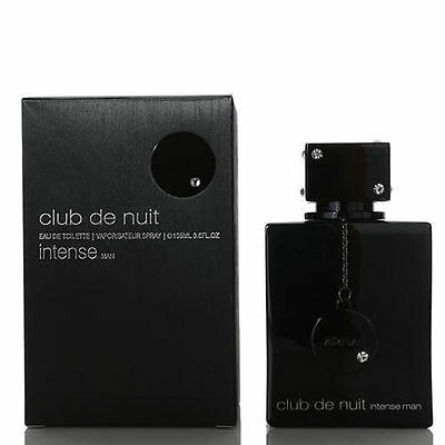 Club De Nuit Intense Man By Armaf 3.6oz Edt Spray New In Box MADE IN FRANCE