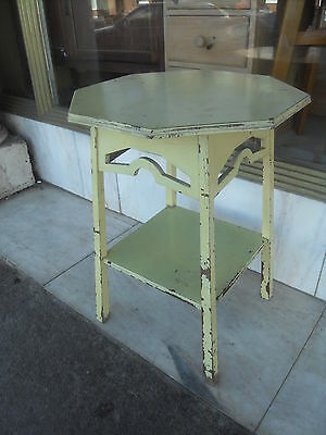 Edwardian Antique Arts & Crafts  ' Liberty Style ' Oak Painted Occasional Table