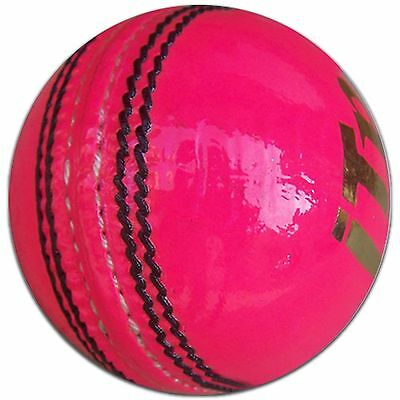 Leather Cricket Ball Training Seinor New Match Sports Club Balls Pink