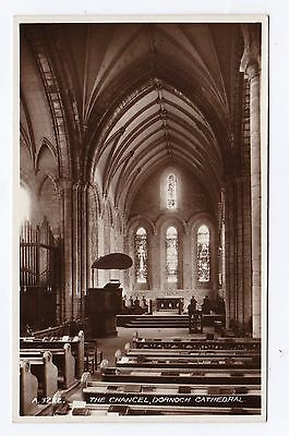 P2836 Original old RP postcard of Dornoch Cathedral