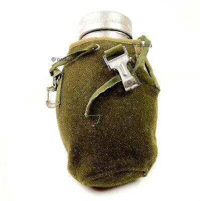 Poland Polish Army Drinking Flask Water Bottle Military Canteen pouch wool cover