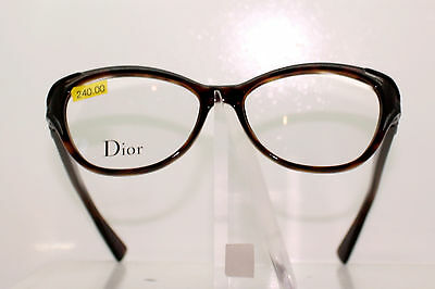 673bf400b6a Christian Dior Cd3281 6Mn Classic Ladies Glasses Frame Glossy Tortoise Brown