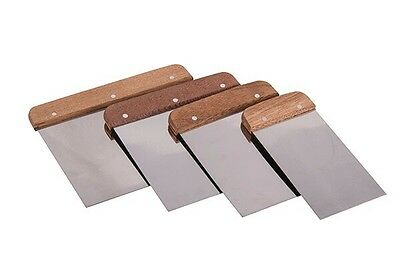Hamilton Prestige 4 Pack Continental Flexible Filling Knife Scraper Set