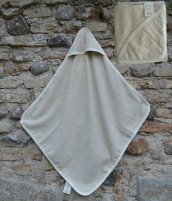 Babies 100% Natural cotton After bath/shower towel with hood