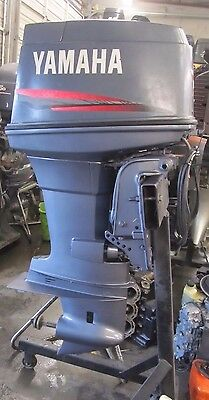 """2003 90HP YAMAHA Outboard 2 Strokes C90TLRC 20"""" Shaft Motor 75HP 85HP Excellent"""