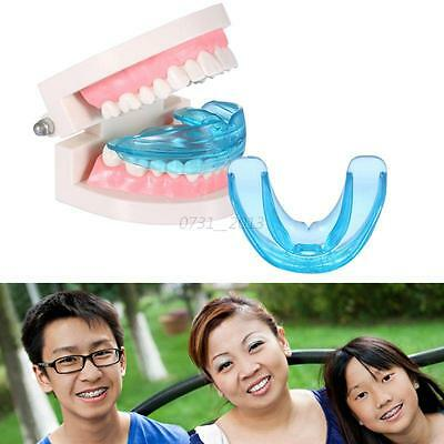 Adult Teens Oral Care Straight Front Teeth Orthodontic Anti-Molar Retainer+Box