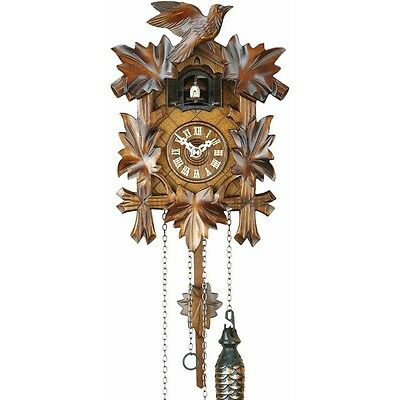 Cuckoo Clock-Music plays every hour & movement Carved-Style,hand made in Germany