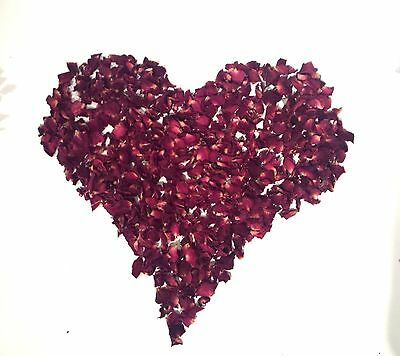 Dried Rose Petals for Wedding Confetti. 1 liter = 5 cups. buy 5 get 1 for FREE!