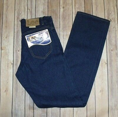 VTG NWT New With Tags Lee Riders 30x34 Union Label Dark Wash