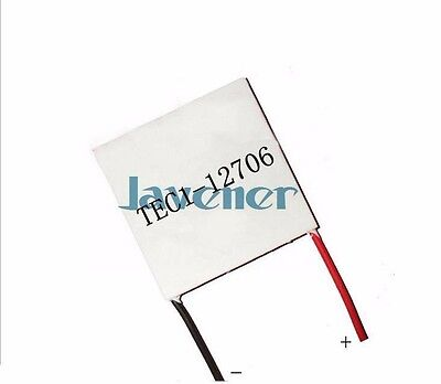 TEC1-12706 Heatsink Thermoelectric Cooler Peltier Cooling Plate 50x50mm 12V 6A
