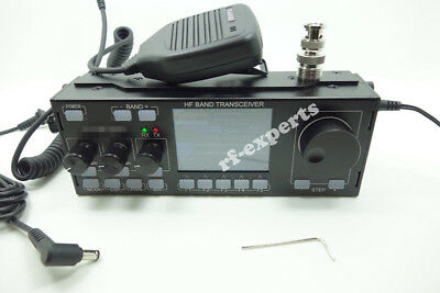 HF SDR Transceiver QRP Ham Radio with case V6 Full tested SDR Radio Ham Radio