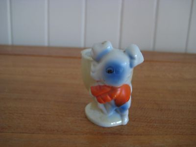 Collectable Vintage Ceramic Novelty Egg Cup ( Pig ) Made In Japan