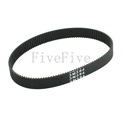 HTD3M-384 Synchronous Wheel Timing Belt 10/12/15mm Width 3mm Pitch 128 Teeth