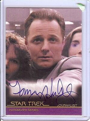 Star Trek Quotable Movies A89 Tommy Hinkley auto