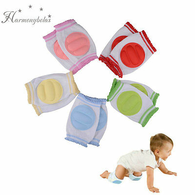 Baby Toddler Crawling Knee Pads Safety Elbow Cushion Knee Cap Infant Protector