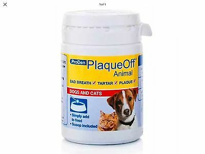 Plaque Off for Dogs & Cats - 60g