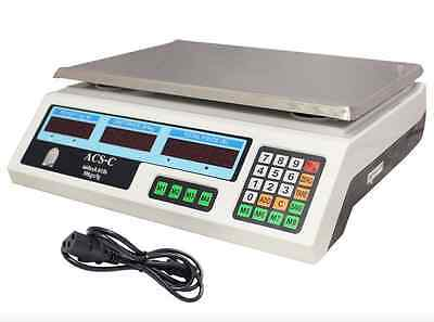 Weighing Scale 60 Lb Digital Price Electronic Computing For Deli Food Produce