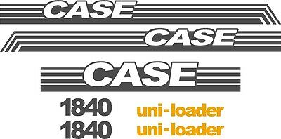 Case 1840 replacement decals sticker / Decal kit NS