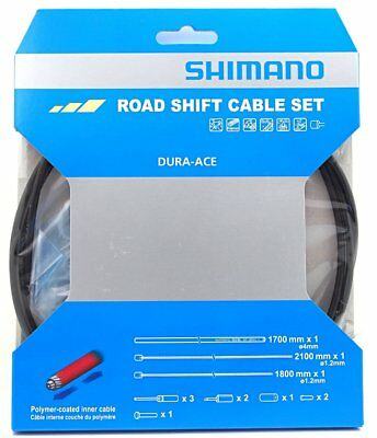 Shimano Dura Ace 9000 Road Polymer coated Shift Cable Housing Set Black