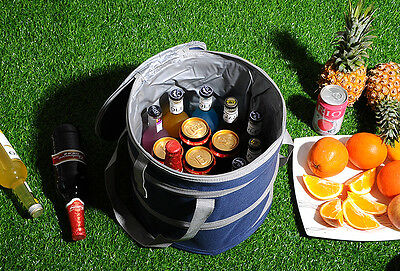Koozie™ Large Insulated Collapsible Cooler Leakproof Lining Picnic Cool Bag Fast