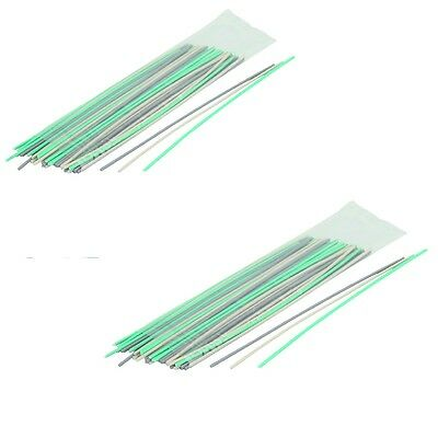 100 Piece Easy To Use Plastic Welding Rods for repairing plastic Items
