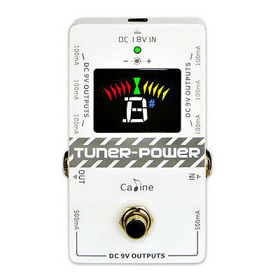 Caline CP-09 Guitar Tuner and Power Pedal