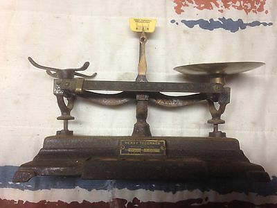 Antique Henry Troemner Pharmacy Scale