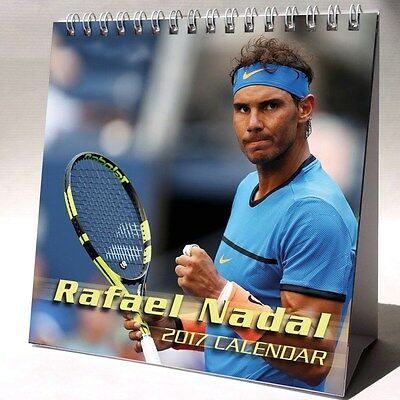 Rafael Nadal Desktop Calendar 2017 NEW Tennis Player Champion Rafa Sexy