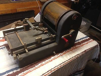 Antique A B Dick Mimeograph Model 91 Chicago