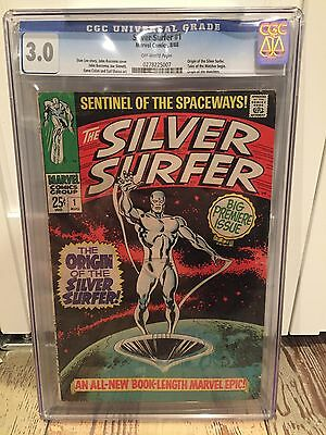 Marvel Silver Surfer # 1 1968 First Solo Series Cgc 3.0 Graded