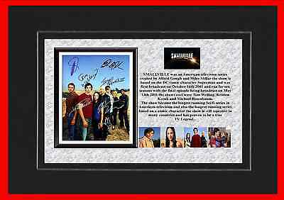 Smallville Tv Classic Mounted Display
