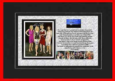 Sex In The City Tv Classic Mounted Display