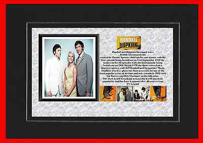 Randall And Hopkirk Tv Classic Mounted Display