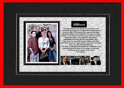 The Sopranos Tv Classic Mounted Display