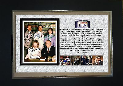 L.a Law Tv Classic Mounted Display