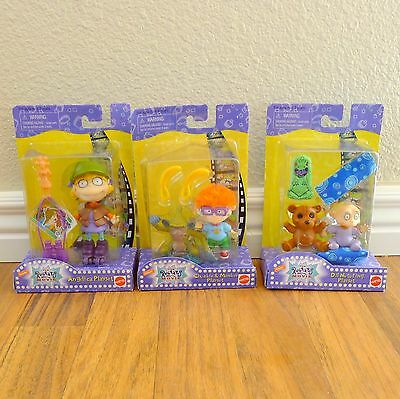 1998 Rugrats Movie Collectible Playset Figures Nickelodeon Mattel Chuckie Dil