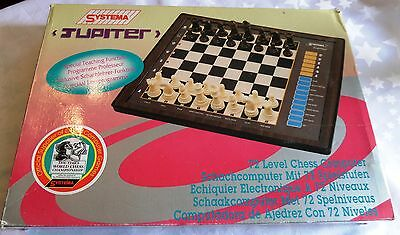 Boxed Vintage Systema Jupiter Electronic Chess Game Model 5T-932 FREE P+P