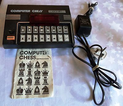 Conic Chess Electronic Chess Computer with Manual & Power Pack 1979