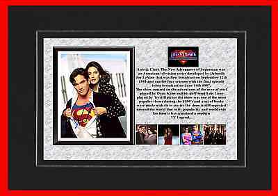 Lois & Clark The New Adventures Of Superman  Tv Mounted Display