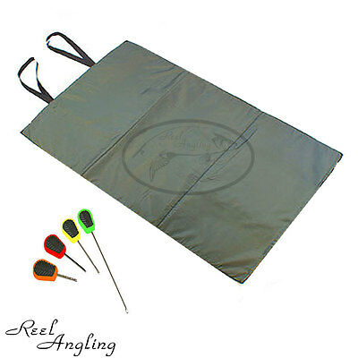 Carp Fishing Unhooking Mat Quick Fish Session & Baiting Needle Set Ngt Tackle