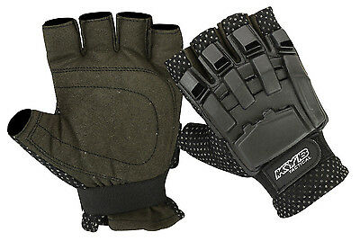 Half Finger Less Paintball Gloves Tactical Airsoft Hunting Army Cycling Armour