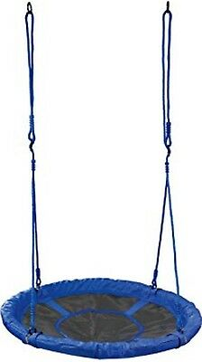 **NEW**KIDS*Spider Web Canvas Nest SWING 1m BLUE Special Needs Cubby Play